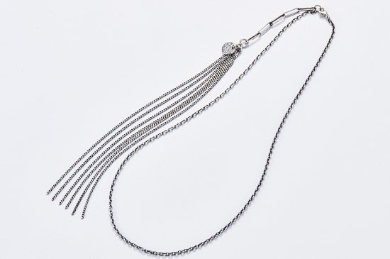 CHANGE FORM THE MIDDLE RED BEAN NECKLACE
