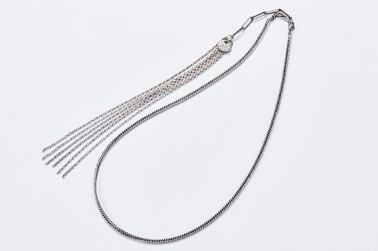 DOUBLE KIHEI NECKLACE WITH FRINGED CHAINS