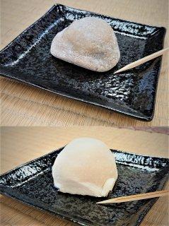 佐渡の栃の実大福&あんぽ干柿大福セット