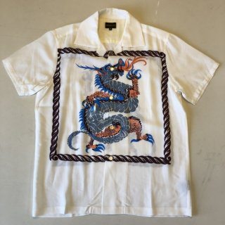 <img class='new_mark_img1' src='https://img.shop-pro.jp/img/new/icons25.gif' style='border:none;display:inline;margin:0px;padding:0px;width:auto;' />The GROOVIN HIGH Vintage Style 50'S Dragon panel Box Shirt Short Sleeves