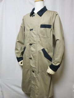 <img class='new_mark_img1' src='https://img.shop-pro.jp/img/new/icons1.gif' style='border:none;display:inline;margin:0px;padding:0px;width:auto;' />Dapper's  Classical Front Hook Engineers Coat LOT1237