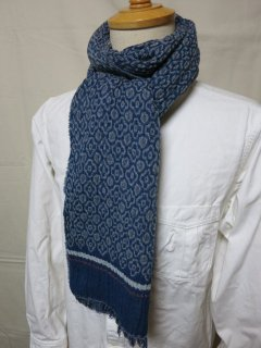 <img class='new_mark_img1' src='https://img.shop-pro.jp/img/new/icons27.gif' style='border:none;display:inline;margin:0px;padding:0px;width:auto;' /> Dapper's Process Woolen Scarf by V.FRAAS LOT1211   BLUE GRAY