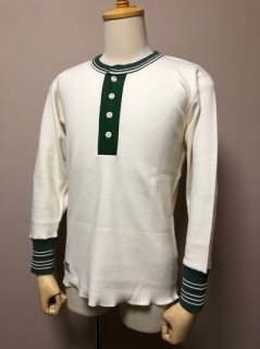 <img class='new_mark_img1' src='https://img.shop-pro.jp/img/new/icons1.gif' style='border:none;display:inline;margin:0px;padding:0px;width:auto;' />DAPPER'S Classical Henley Neck Mesh L/S Tee LOT1421 OFF WHITE/FOR RICH(Solid)