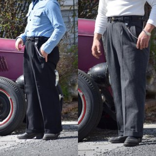 <img class='new_mark_img1' src='https://img.shop-pro.jp/img/new/icons2.gif' style='border:none;display:inline;margin:0px;padding:0px;width:auto;' />The GROOVIN HIGH 1930s style Work pants  Gray