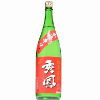 【日本酒】秀鳳 純米 辛口 1800ml【酒の秋山限定】