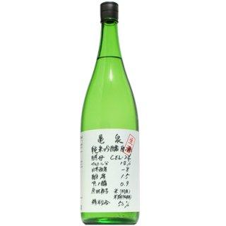 【日本酒】 亀泉 純米吟醸 CEL-24 生 1800ml