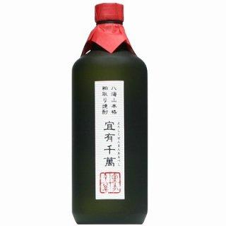 【粕取り焼酎】八海山 宜有千萬(よろしくせんまんあるべし) 720ml