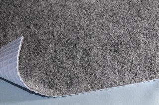 ラバーパンチカーペット/ホワイトグレー/20m巻