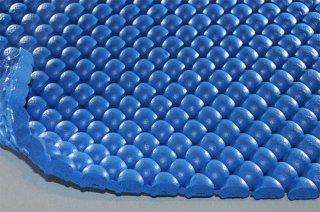 まる球マット/ブルー/厚10mm/幅1m