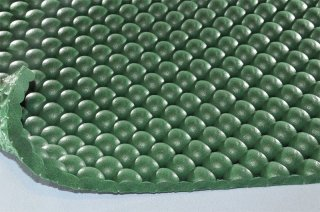 まる球マット/グリーン/厚10mm/幅1m