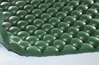 まる球マット/グリーン/厚16mm/幅1m