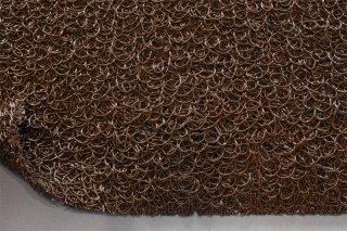 ヌードルマット/ブラウン/幅90cmx長6m