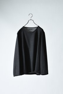 Double Face 01 Knit Sew black×gray