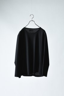 Double Face 01 Knit Sew black×navy