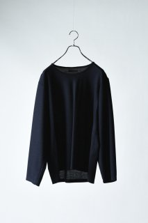 Double Face 01 Knit Sew navy×black