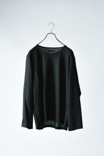Double Face 01 Knit Sew black×green