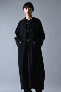 Wool Gabardine Over Duffle Coat