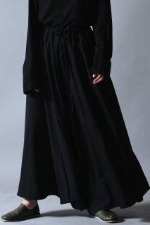 Wool Gabardine Liberty Pants black