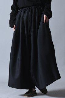 Asymmetry Pleats Pants