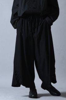 Wool Gabardine Big China Pants
