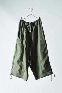 Bio Wash Army Cloth Goto-Gi Pants