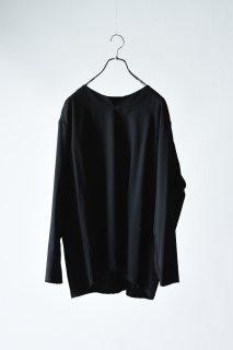 Wool Gabardine 01 Rapel Pullover black