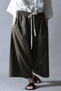 Linen Pajama Pants olive