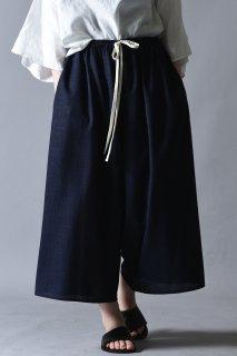 Linen Pajama Pants navy