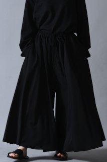 Wool Gabardine Drape Pants