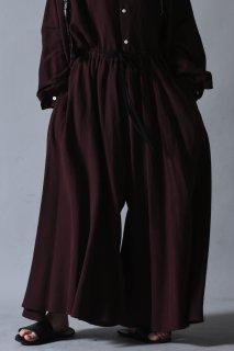 Linen Rayon Drape Pants