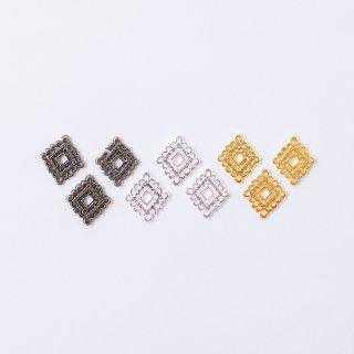 メタルパーツ スカシ菱(3個入り)
