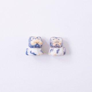 陶玉ビーズ シーサー(1個入り)