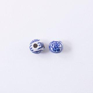 染付ビーズ AC926(2個入り)