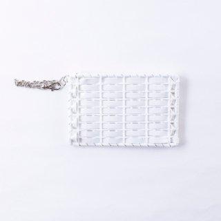 きらきらパスケース(125-エナメルホワイト)