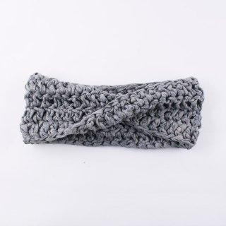 莫大小紐のヘアバンド(3440-スモーク)