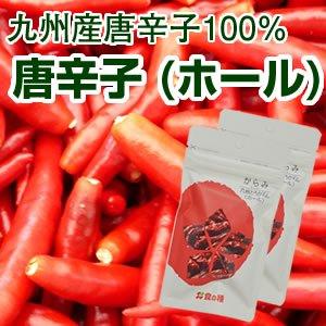 【希少な国産】九州産100%使用 唐辛子(乾燥品 ホール)10g×2 [送料無料]