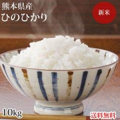 ひのひかり 米 送料無料 10kg 令和2年産 新米 熊本県産 お米 白米 玄米 コシヒカリ 森のくまさん