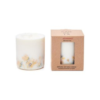 <img class='new_mark_img1' src='https://img.shop-pro.jp/img/new/icons15.gif' style='border:none;display:inline;margin:0px;padding:0px;width:auto;' />Soy Wax Candle:Marigold flowers | MUNIO CANDELA