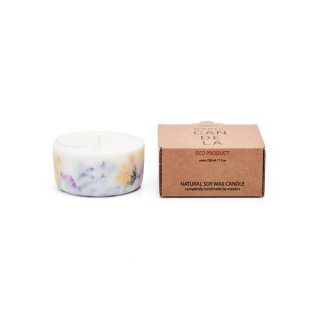 <img class='new_mark_img1' src='https://img.shop-pro.jp/img/new/icons55.gif' style='border:none;display:inline;margin:0px;padding:0px;width:auto;' />Soy Wax Candle:Wild flowers Rose  | MUNIO CANDELA