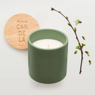 <img class='new_mark_img1' src='https://img.shop-pro.jp/img/new/icons15.gif' style='border:none;display:inline;margin:0px;padding:0px;width:auto;' />Soy Wax Candle:Apple blossom | MUNIO CANDELA