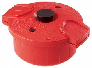 電子レンジ圧力鍋 極み味 レッド/MWP1_239564