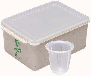 便利な水取り付き【ぬか漬け用容器】/MTH1_009754