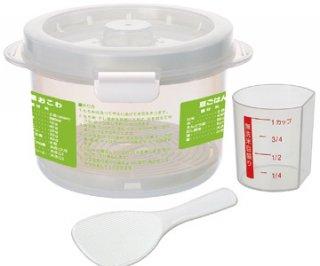 レンジでご飯調理容器〔2合炊き〕/UDG2_123658