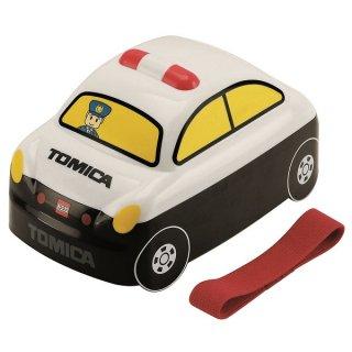 子供用 立体弁当箱 360ml トミカ パトカー|電子レンジ対応/DLB4_182921