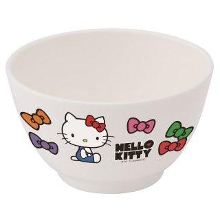 食洗機対応ポリプロピレン製茶わん●ハローキティ フェイス(リボン)/XP13_254970