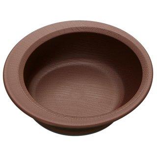 木目食器シリーズ 木目すくいやすいボウル ブラウン 茶色/NPLS1_383694