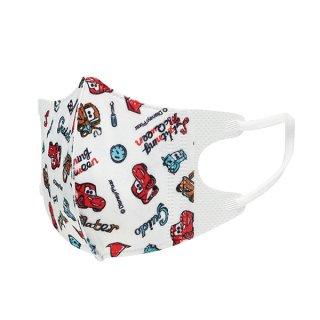 【1会員様1つまで】子供用立体マスク(S) [5個入り]  ディズニー カーズ/MSKB1_385872