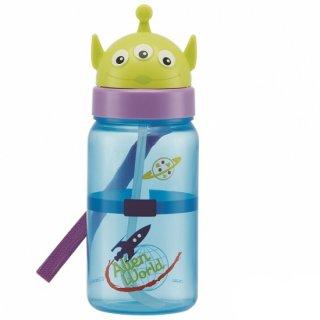 キャラクター型 ストロー式ボトル 350ml エイリアン|子供用/PBS3STD_386343
