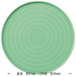シリコーン製 お食事マット丸型 ミントグリーン/SLM1P_389009