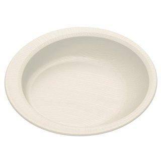 木目食器シリーズ 木目すくいやすいプレート クリーム 白色/NPLS2_391637